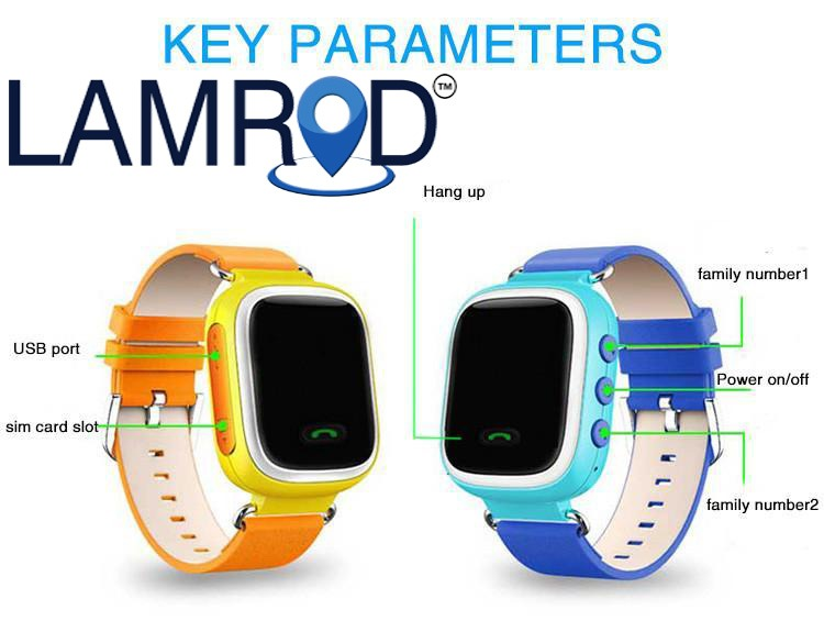 lamrod gps watch features